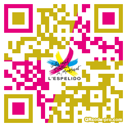 QR code with logo 1Xkn0