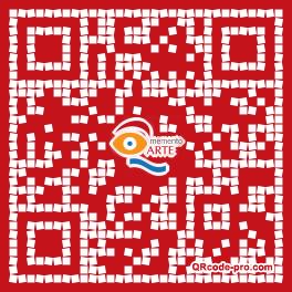 QR code with logo 1Xrm0