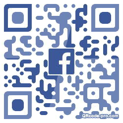 QR code with logo 1XtR0