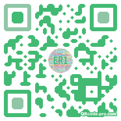 QR code with logo 1Xul0