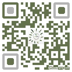 QR code with logo 1Xy00