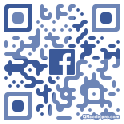 QR code with logo 1YBE0