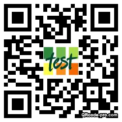 QR code with logo 1YBb0