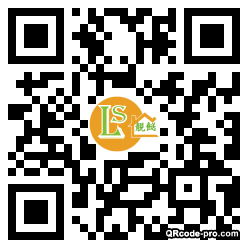 QR code with logo 1YEP0