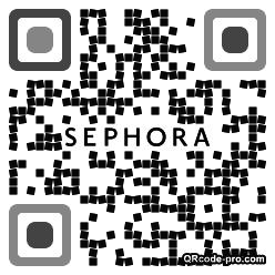 QR code with logo 1YFN0