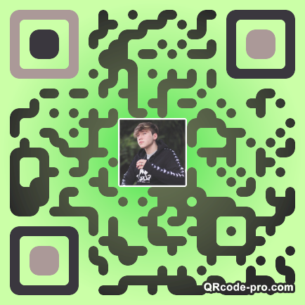 QR code with logo 1YHo0