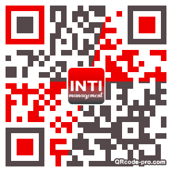 QR code with logo 1YLI0
