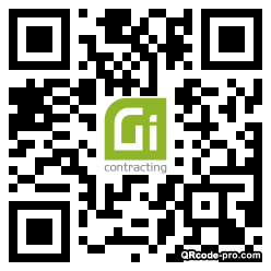 QR code with logo 1YUn0