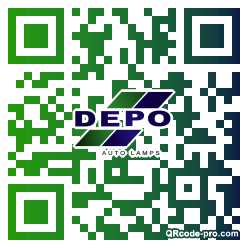 QR code with logo 1YWT0