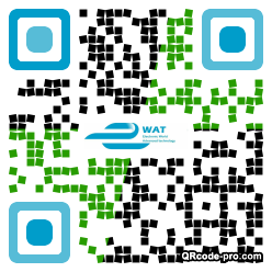 QR code with logo 1YWU0