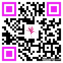 QR code with logo 1YWZ0