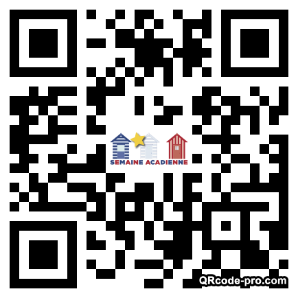 QR code with logo 1Yea0