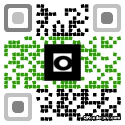 QR code with logo 1Yr80
