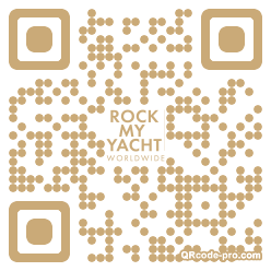 QR code with logo 1YrU0