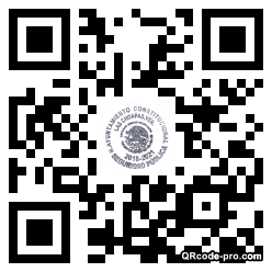 QR code with logo 1Yx60