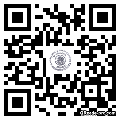 QR code with logo 1Yx80