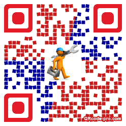 QR code with logo 1Yyj0
