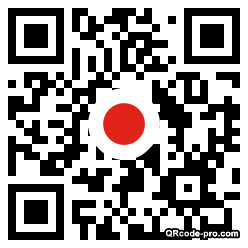 QR code with logo 1Z060