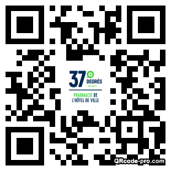 QR code with logo 1Z110