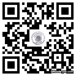 QR code with logo 1Z6U0