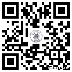 QR code with logo 1Z740