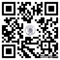 QR code with logo 1Z750