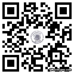 QR code with logo 1Z770