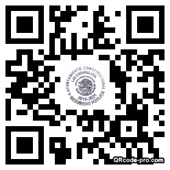 QR code with logo 1Z7s0