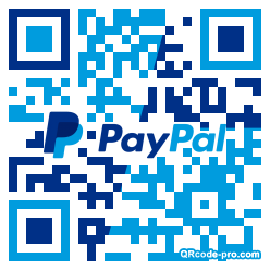 QR code with logo 1Z860