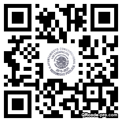 QR code with logo 1Z8A0