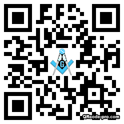 QR code with logo 1Z950