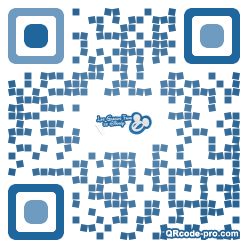 QR code with logo 1ZFe0
