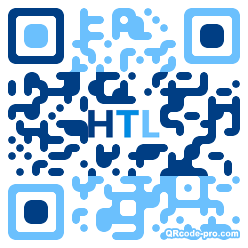 QR code with logo 1ZK30