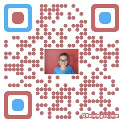 QR code with logo 1ZLM0