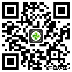 QR code with logo 1ZM80