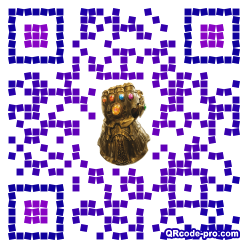 QR code with logo 1ZNG0
