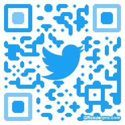 QR code with logo 1ZRr0