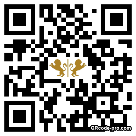 QR code with logo 1ZV70