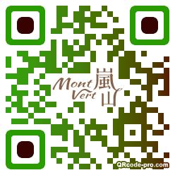 QR code with logo 1ZVI0