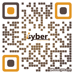 QR code with logo 1ZdN0