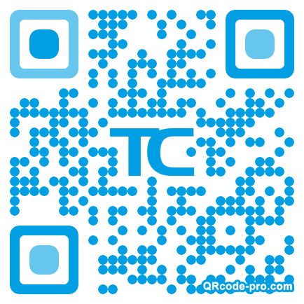 QR code with logo 1ZlE0