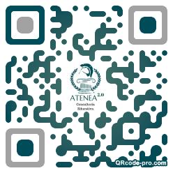QR code with logo 1ZrP0