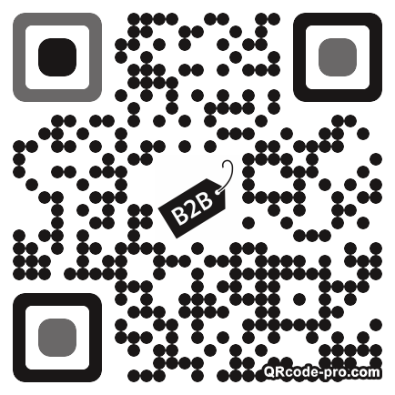 QR code with logo 1Zs80