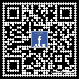 QR code with logo 1ZwO0
