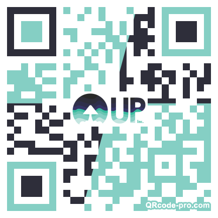 QR code with logo 1Zx70