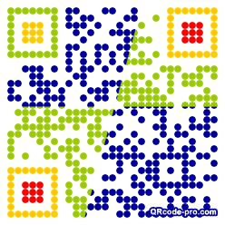 QR code with logo 1a2x0