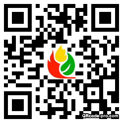 QR code with logo 1a840