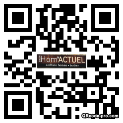 QR code with logo 1aB00