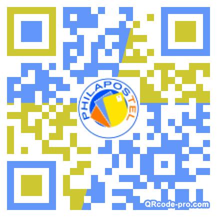 QR code with logo 1aV30