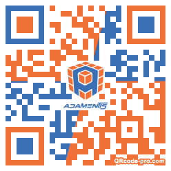 QR code with logo 1afB0